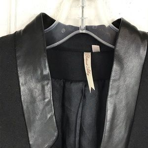 Jackets & Coats - Petticoat Alley blazer with fauxleather details XS